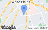 Map of White Plains, NY